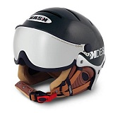 Шлем Kask Kdesign Basic Visor Silver Black (58)