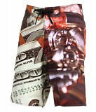 Шорты мужские Crooks & Castles Blood Money Sublimated Print