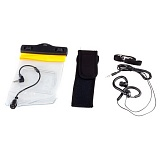 Набор Bag Waterproof With Earphone & Strap For Cell Phone/MP3/MP4 Black