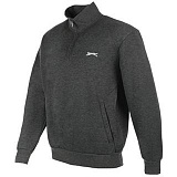 Толстовка Slazenger Full Zip Charcoal Marl